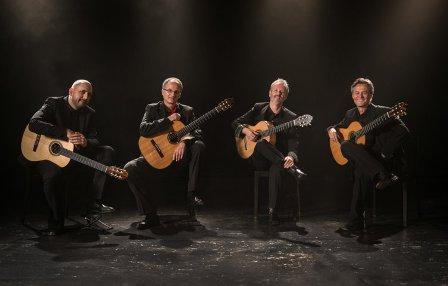 Eos Guitar Quartet Black